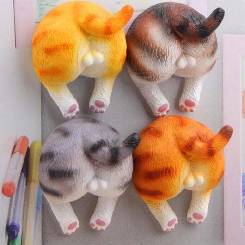 Megrocle Cat Butt Magnets